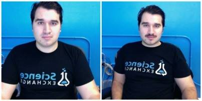 Our Software Engineer Michael Kompanets with his Movember mustache.